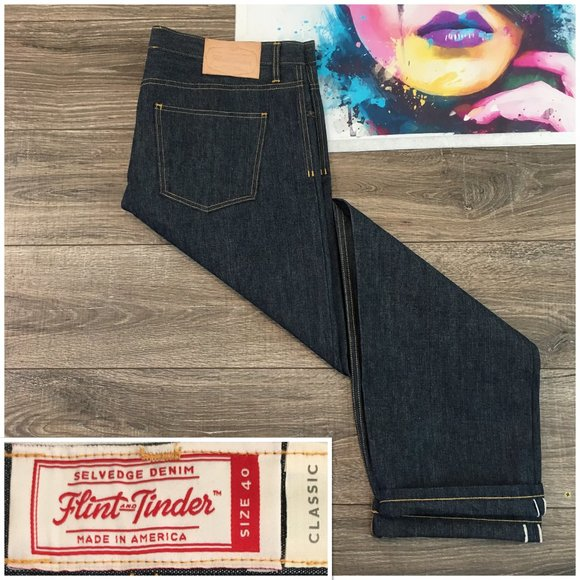 Flint Tinder Jeans Flint And Tinder Selvedge Denim Mens Usa New Poshmark